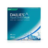 DAILIES Aqua Comfort PLUS Toric (90 stk.) STYRKE: -0,75 CYLINDER: -1,25