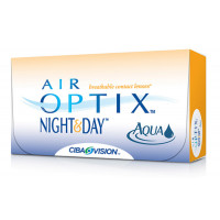 Air Optix Night & Day Aqua - Kontaktlinser - Månedslinser (6 stk.)